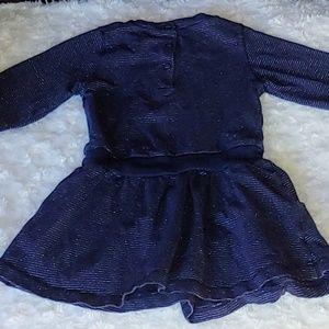Koala Kids Dresses - *B2G1* Baby Navy Long Sleeve Star Dress
